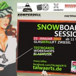 Snowboard Session Zwiesel Flyer