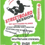 Streetboard Session Zwiesel Flyer