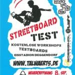 Streetboardsession Deggendorf Flyer