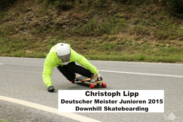 Christoph_Lipp_Deutscher_Meister_2015_Downhill_Skateboarding_ Deggendorf_Talwaerts