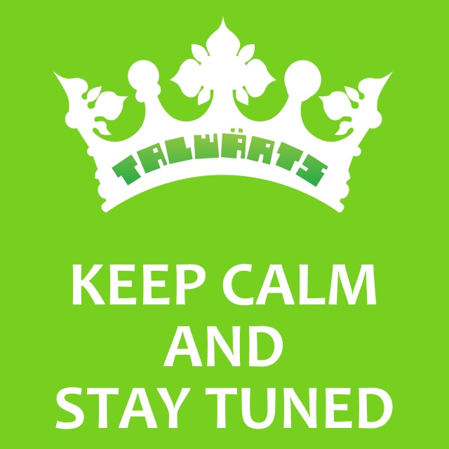 Keep calm and stay tuned-hp